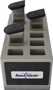 Benchmaster Double Stack 9mm - 12 Unit Mag Rack