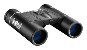Bushnell Binocular Powerview - 12x25 Compact Roof Prism Blk!