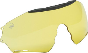 Beretta Shooting Glasses Puull - Yellow W/rigid Case Lens Only<