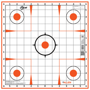 "Allen Ez Aim Sight Grid Trgt - 12-pk 12""x12"""
