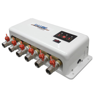 GROCO Oil Change System - 6-Port - 12V