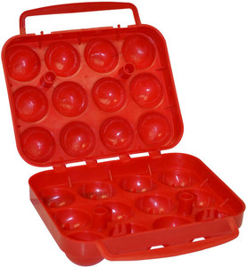 Coleman Plastic Egg Container - Holds 12 Eggs