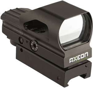 Axeon Reflex Sight W/4 Red - Changable Reticles - 2218638