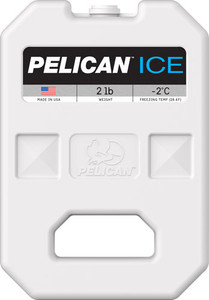 Pelican 2 Lb Ice Pack White - Reusable