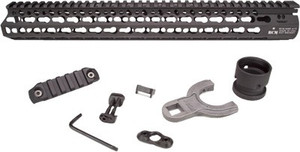 "Bcm Rail Alpha 15"" Keymod - Black Fits Ar-15"