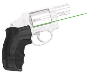 Ctc Laser Lasergrip Green S&w - J-frame Rnd Butt Recoil Reduc