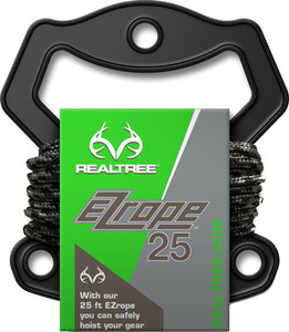 Realtree Ez Rope 25' Braided - Cord W/attached Carabiners