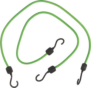 """Coleman Abs Stretch Cord 36"""" - 2 Pack With Poly Coated Hooks"""