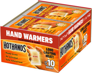 Hothands Hand Warmers 40 Pair - 10 Hour