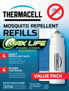 Thermacell Refill Max Life 48 - Hours W/max Life Mat Oderless