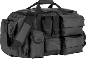 Red Rock Operations Duffle Bag - 7 External Utility Pouches Blk