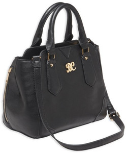 Bulldog Concealed Carry Purse - Satchel Black W/black Trim