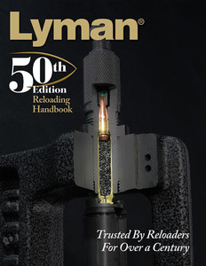 Lyman 50th Reloading Handbook - Softcover 528 Pages