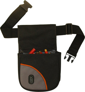 Bob Allen Divided Pouch W/ Blt - Club Series Twin Compartments