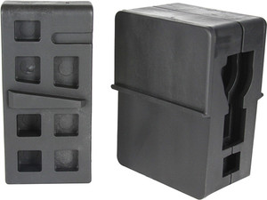 Je Ar15 Polymer Vice Blocks - Upper And Lower Combo
