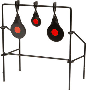 Allen .22 Metal Triple Spinner - Target Black