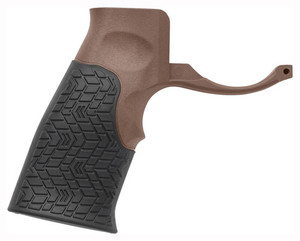 Daniel Def. Grip Ar-15 Brown - With Integrated Trigger Guard