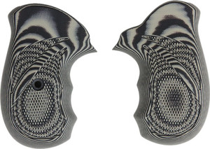 Pachmayr G10 Grips Ruger Sp101 - Grey/black Checkered