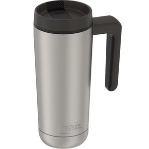 Thermos Guardian Collection Stainless Steel Hydration Bottle - 18oz - Hot 5 Hours/Cold 14 Hours - Stainless Steel & Black
