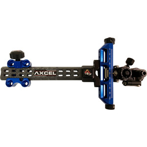 Axcel Achieve Compound X Sight Blue/ Black 6 In. Rh