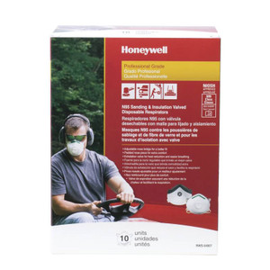 Saf-t-fit Plus N95 Disposable Respirator With Exhalation Valve