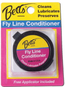 Betts Fly Line Conditioner W/ Pad