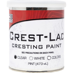 Bohning Crest-lac Paint Clear Pint