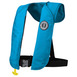 Mustang MIT 70 Inflatable PFD Manual - Azure Blue