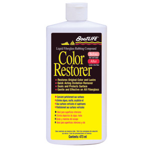 BoatLIFE Fiberglass Rubbing Compound & Color Restorer - 16oz *Case of 12*
