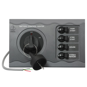 BEP Battery Control Center f/Triple Engine Remote