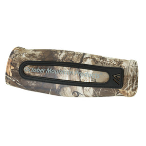 October Mountain Compression Arm Guard Realtree Edge Jacket Fit