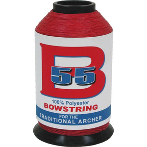 Bcy B55 Bowstring Material Red 1/4 Lb.