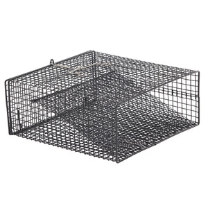 "Frabill Crawfish Flat Bottom Square Trap - 12"" x 12"" x 5"""