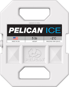 Pelican 5 Lb Ice Pack White - Reusable