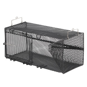 "Frabill Black Minnow Rectangular Trap - 18"" x 8"" x 8"""