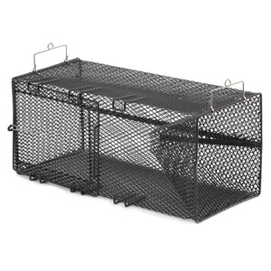 "Frabill Black Crawfish Rectangular Trap - 8"" x 8"" x 18"""
