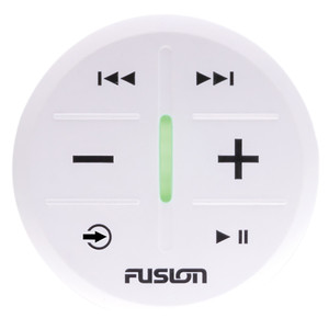 FUSION MS-ARX70W ANT Wireless Stereo Remote - White *3-Pack