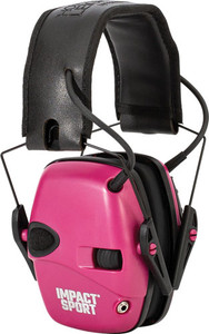 Howard Leight Impact Sport - Youth Electronic Muff Pink