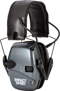 Howard Leight Impact Sport - Youth Electronic Muff Gray/blk