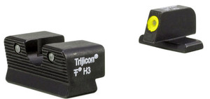 Trijicon Night Sight Set Hd Xr - Yellow Outline Fn 509