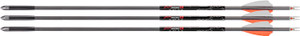 """Axe Crossbow Micro Bolt .166"""" - Red Lighted Nock 19"""" 3pk"""