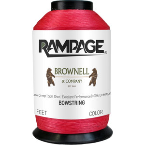 Brownell Rampage Bowstring Material Red 1/8 Lb.