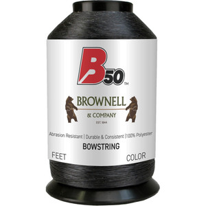 Brownell B50 Bowstring Material Black 1 Lb.