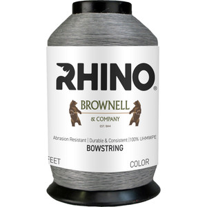 Brownell Rhino Bowstring Material Grey 1/8 Lb.