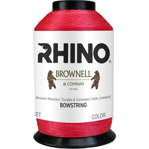 Brownell Rhino Bowstring Material Red 1/8 Lb.