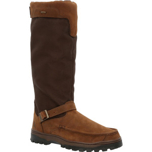 Rocky Outback Snake Boot Brown 8