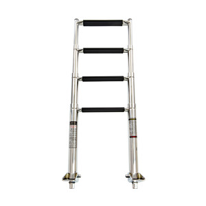 Whitecap 4-Step Telescoping Swim Ladder