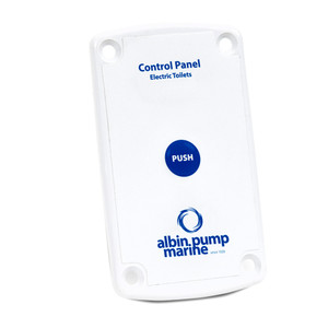 Albin Pump Marine Control Panel Standard Electric Toilet