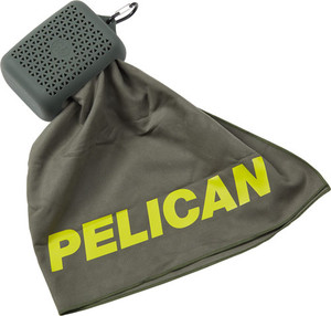Pelican Multi Use Towel W/ - Carry Case Olive Drab