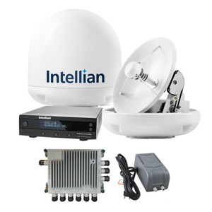 Intellian Intellian i3 US System US and Canada TV Antenna System and SWM-30 Kit